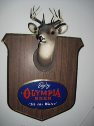 Olympia Brewery Collectibles Plaques