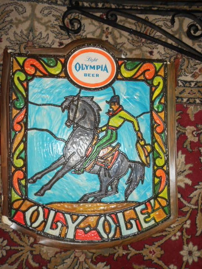 Olympia Brewery Collectibles South Of The Border