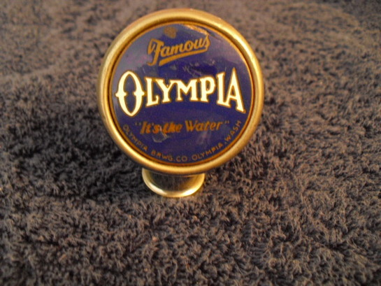 Olympia Brewery Collectibles Tap Knobs